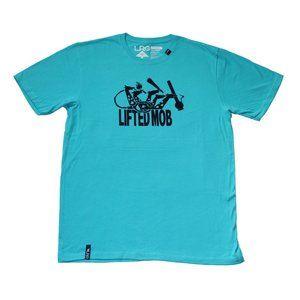 LRG Lifted Mob Tee (Turquoise)